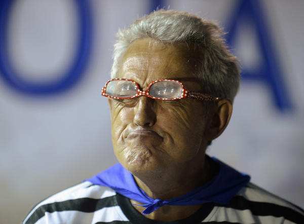 A participant in the Ugly Competition. (Reuters)