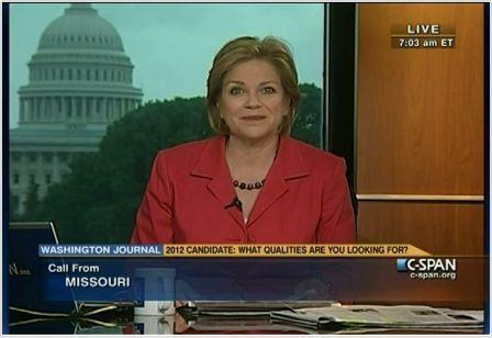 "Susan Swain, co-CEO, of C-SPAN, says of the channel's convention coverage: ""We think of this as our Olympics."""