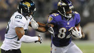 Ravens wide receiver Torrey Smith displayed another element to his evolving skill set in Thursday's game against the Jacksonville Jaguars.
