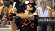 When designated hitter Chris Davis walked up to home plate in Friday's eighth inning after homering in his initial three at-bats — the first Oriole to do that in six years and the second time it has happened in a game involving the club this week — he had just one thought in his mind.