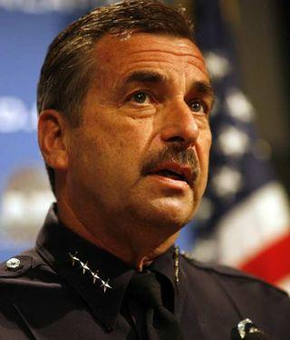 "LAPD Chief Charlie Beck said detectives assigned to a case have the best chance of building a rapport with their witnesses and recognizing if a fearful or hostile witness is holding back information. ""If you decide you want to put your thumb on the scale of justice, you can do it either way,"" Beck told The Times."