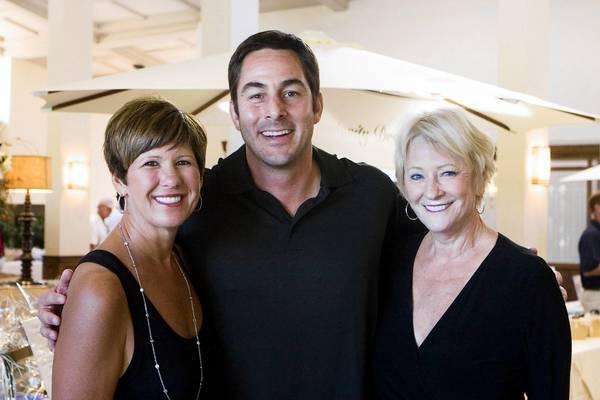 Renee Pepys Lowe, Dan Houck and Shirley Pepys.