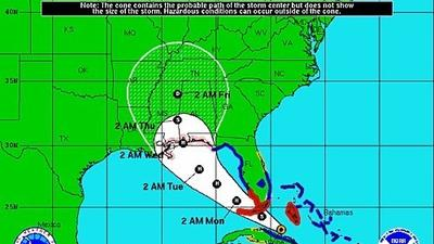 Hurricane watch issued for South Florida