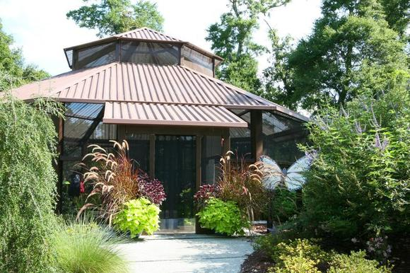 The Butterfly House at Airlie Gardens in Wilmington, N.C. is open until mid-October.