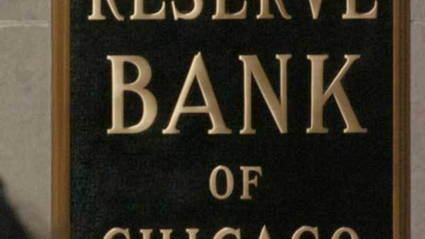 A bank sign