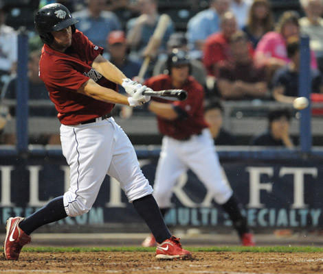 The Lehigh Valley IronPigs took on the Scranton Yankees Saturday night at home.