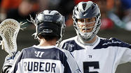 It didn't start pretty for the Chesapeake Bayhawks during Saturday's Major League Lacrosse semifinal at Harvard Stadium in Cambridge, Mass., but a momentum-changing string of four points in 48 seconds left the Bayhawks smiling at the end.