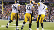 After showing his displeasure toward the Pittsburgh sideline, Ben Roethlisberger then took out whatever frustrations he had on the Buffalo Bills' defense in the Steelers' 38-7 preseason victory on Saturday night.