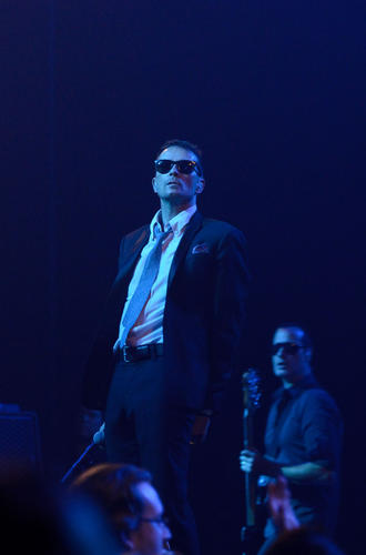 Scott Weiland of Stone Temple Pilots at MGM Grand at Foxwoods Saturday, August 25.