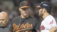 "Here's Matt Lindstrom <a href=""http://www.baltimoresun.com/sports/orioles/blog/bal-orioles-acquire-joe-saunders-from-diamondbacks-20120826,0,7606117.story"" target=""_blank"">on his trade to Arizona</a> (with a player to be named later) for cash and Joe Saunders. Lindstrom was 1-0 with a 2.72 ERA in 34 games with the Orioles."