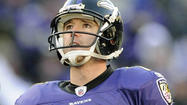 Ravens waive kicker Billy Cundiff