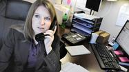 Inside a small cubicle in Timonium, Jessica Gatton Facini is saving homes.