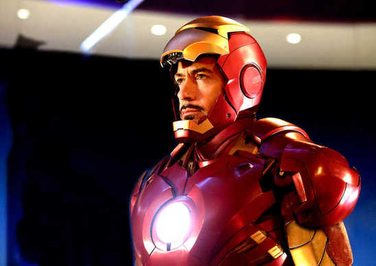 Robert Downey Jr.'s Tony Stark couldn't survive without the suit that keeps his heart beating (a bit like Darth Vader in the&q