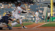 PITTSBURGH (AP) — Carlos Gomez and Aramis Ramirez homered off Erik Bedard, leading Mark Rogers and the Milwaukee Brewers over the wobbling Pittsburgh Pirates 7-0 on Sunday.