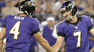 For the better part of three years, veteran kicker Billy Cundiff and punter Sam Koch collaborated for the Ravens' special teams.