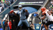 Seattle traded quarterback Tarvaris Jackson to the Buffalo Bills for an undisclosed draft choice, the Seahawks announced Monday.