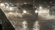North Lake Shore Drive has been reopened after heavy rains caused flooding in the southbound lanes between North and Grand avenues Sunday night, officials said.