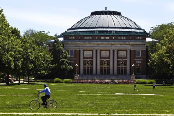 The University of Illinois' three campuses saw an all-time high of applicants this year at about 48,000 for about 12,000 spots, University President Robert Easter said Sunday.