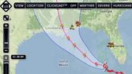 "Tropical Storm Isaac neared hurricane strength Monday night, closing on the Gulf Coast with a projected landfall a day short of the seventh anniversary of <a id=""tinymce"" class=""mceContentBody "" dir=""ltr"">Hurricane Katrina</a>."