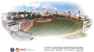 City: If downtown stadium project advances, construction could begin in first half of 2013