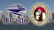 "SAN DIEGO -- Two of San Diego's major universities received top honors in <a href=""http://www.washingtonmonthly.com/college_guide/toc_2012.php"" target=""_blank"">Washington Monthly magazine's annual college rankings</a> released Monday."