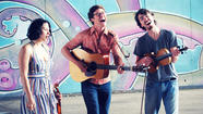 Indie neo-folk trio Plume Giant, who'll play a release show for their debut full-length, <em>Callithump</em>, at Wesleyan on Saturday, have Connecticut roots. Oliver Hill (guitar, viola, voice), Nolan Green (guitar, harmonium, voice) and Eliza Bagg (violin, harmonium, trinkets, voice) met as Yale students (Hill and Bagg, classical music lineage firmly in place, were both music majors), and they've returned to CT regularly since then. Their songs (they write them together) have been compared favorably to Bowerbirds, Dirty Projectors, Sea Wolf and Dan Hicks, and they've toured with some other folks you might have heard of — Brown Bird, Sharon Van Etten, Paper Bird, Sean Rowe and He's My Brother She's My Sister. <em>Callithump </em>was recorded with engineer James Frazee, who's worked with the Hold Steady, The Walkmen and Son Volt. Should be pretty raucous, in an acoustic-cool sort of way.