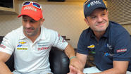 Tony Kanaan, Rubens Barrichello are teammates on, off the track