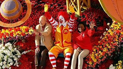 <B>Official name:</B> Ronald McDonald<BR>