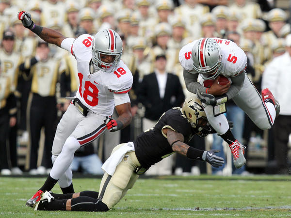 Cornerback Ricardo Allen could be an All-Big Ten candidate for Purdue.