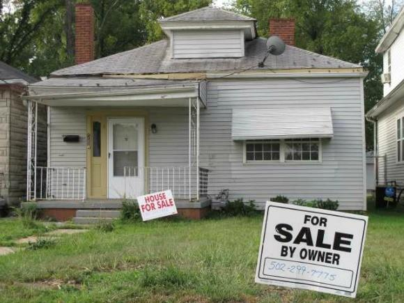 The owner of boxing great Muhammad Ali's boyhood home has put the home in Louisville, Ky., on the market.