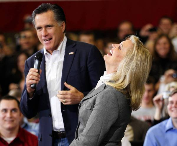 Mitt Romney's wife, Ann, will attempt to show her husband's softer side when she takes the stage Tuesday at the Republican National Convention.