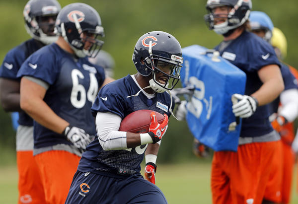 Armando Allen has one more exhibition game to win the Bears' third running back job.