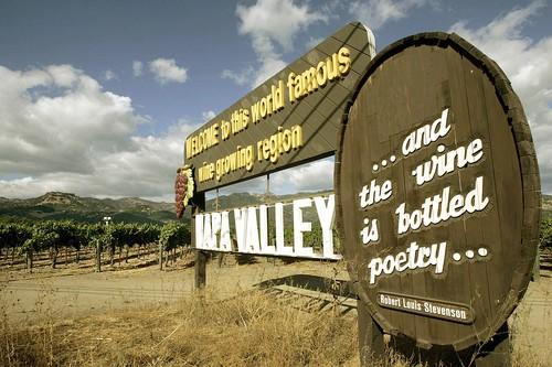 Several wineries in the Napa Valley offer wine and food pairings to entice more visitors into their tasting rooms.