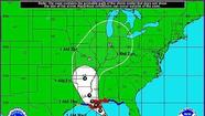 Tropical Storm Isaac could reach hurricane strength at any time and was projected to strike the north Gulf Coast near New Orleans Tuesday night as a Category 1 hurricane.