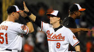 The Orioles spent 7 1/2 innings nearly giving away a game they couldn't afford to lose against the sizzling Chicago White Sox on Monday night at Camden Yards.