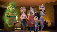 """ParaNorman"" is one of those animated kids' movies that's filled with dark, deathly subject matter. At various points we see ghosts, corpses, zombies and all manner of gruesome stuff in between."