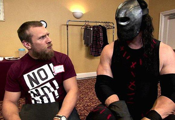 "Daniel Bryan and Kane attend an anger management class on ""Monday Night Raw."""