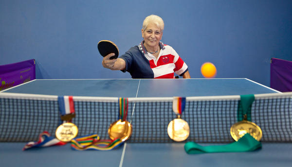 Terese Terranova is a double gold medalist in table tennis at the 1988 Korea Paralympics and a bronze medalist at the 1992 Barcelona and 1996 Atlanta Paralympics Games. She can be found coaching and ping ponging at the Broward Table Tennis Club (www.2xtremepong.com).