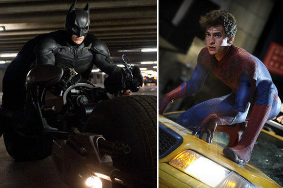 """The Dark Knight Rises"" and ""The Amazing Spider-Man"" will open against each other in China."