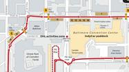 2012 Grand Prix of Baltimore - Course map