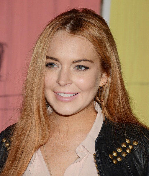 Lindsay Lohan attends the Domingo Zapata 'Life Is A Dream' Art Exhibition at Dream Downtown on May 10, 2012 in New York City.