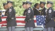 Officer Adrian Morris' funeral [Pictures]