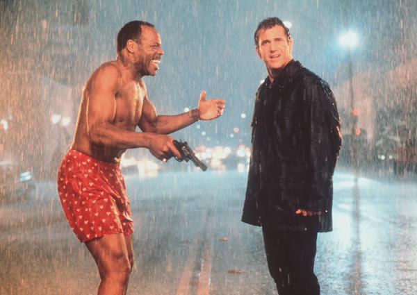 The fourth pairing of Mel Gibson, right, and Danny Glover featured a plot involving a Chinese immigrant smuggling ring and also had the Hollywood debut of martial arts action star Jet Li. One of the major action set-pieces in the film involved a chase along the rooftops of Chinatown.