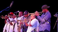 Rebirth Brass Band, 3:30 p.m. Sun. at North stage