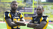 Wide receivers Leon Kinnard, Gerrard Sheppard team up again at Towson