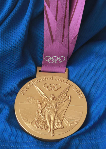 The bronze medal won by Danell Leyva at the 2012 Summer Olympics in London.