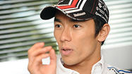 IndyCar driver Sato takes chance, goes for it