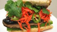 Roopa Marcello grew up eating Indian food at home and sandwiches at school, but today she writes about a variety of vegetarian-friendly cuisines on her blog, Raspberry Eggplant (www.raspberryeggplant.blogspot.com). Her version of the Vietnamese sandwich banh mi chay is easy to make and adds crunch and flavor to lunch.
