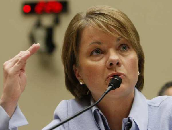 Angela Braly resigned as CEO under pressure from shareholders