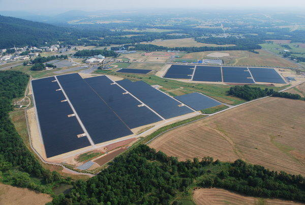 More than 220,000 solar panels are expected to generate enough electricity to power 1,700 homes.